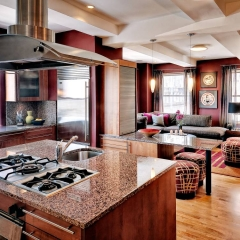 Urban Kitchen and Family Room