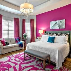 Florida contemporary bedroom